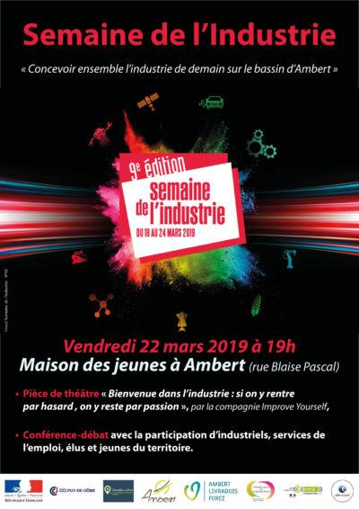 18 au 22 mars – La Semaine de l'industrie sur le bassin d'Ambert