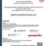 Vendredi 8 Octobre 2021 – Participez à l'OPÉRATION CONJOINT(E)